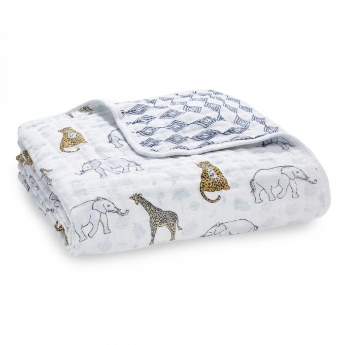 Купить Одеяла, Одеяло Aden&Anais из муслинового хлопка Jungle 120х120 см