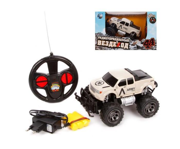 Радиоуправляемые игрушки Наша Игрушка Джип военный радиоуправляемый