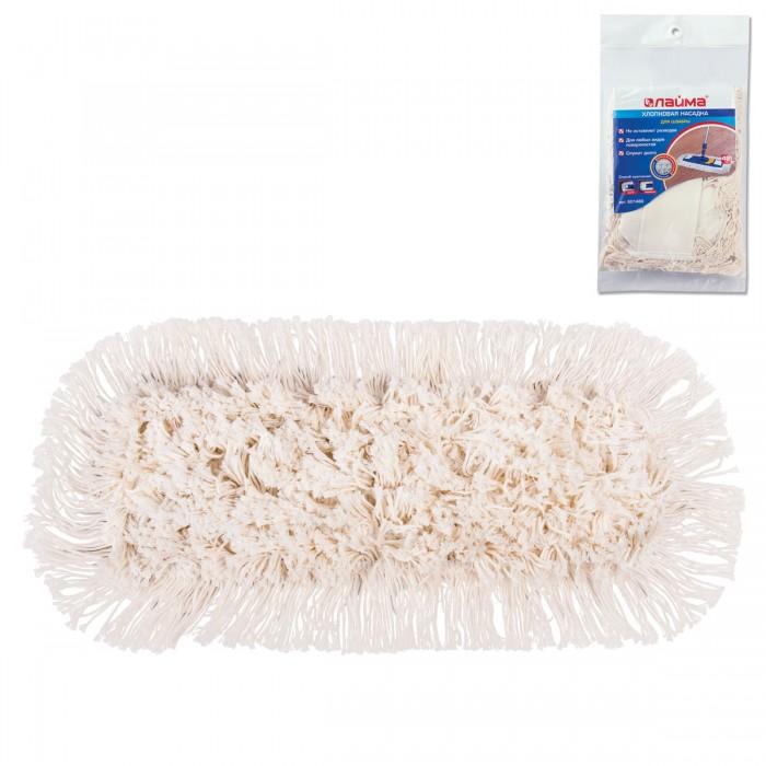 Хозяйственные товары Лайма Насадка МОП плоская для швабры/держателя 40 см хозяйственные товары лайма насадка для швабры 601470 веревочная