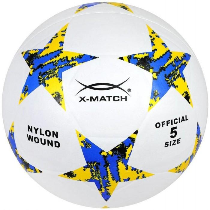 Мячи X-Match Мяч футбольный резиновый