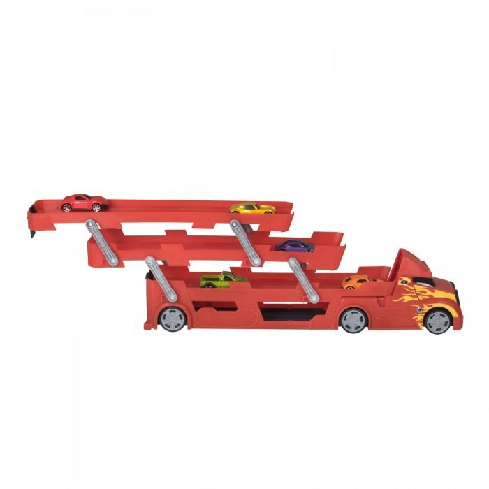 Картинка для Машины HTI Игровой набор для детей Teamsterz Трасса Автопервозчик