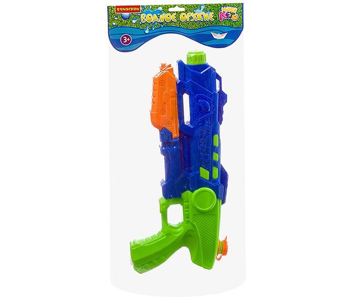 Водные пистолеты и бластеры Bondibon Водный пистолет с помпой Наше Лето ВВ2852