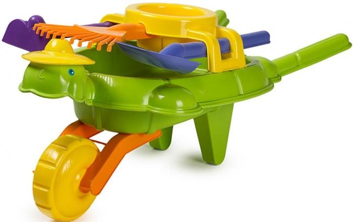 Купить Игрушки в песочницу, ZebraToys Тачка Черепашка