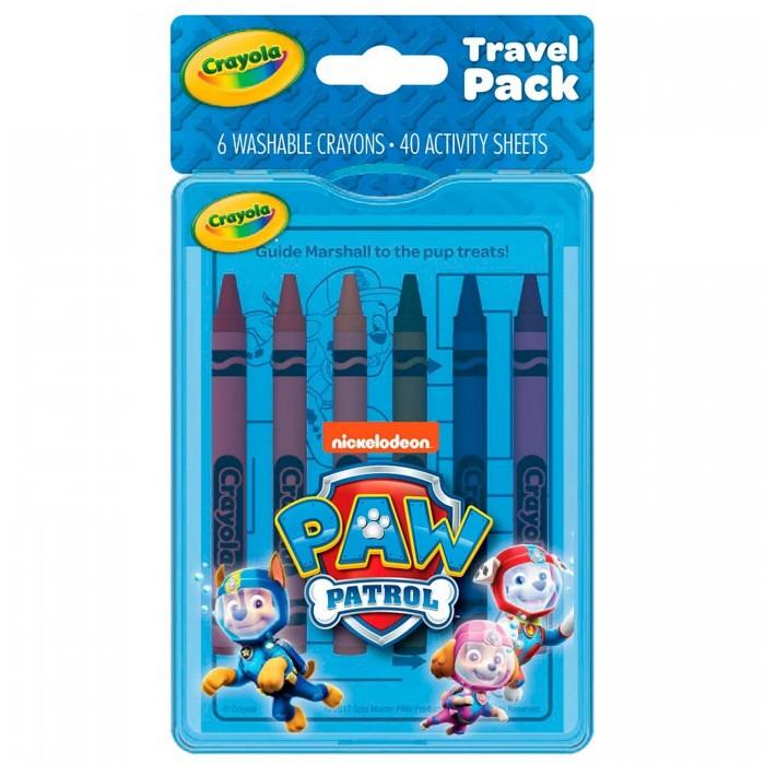 Crayola Дорожный набор для творчества Щенячий патруль.