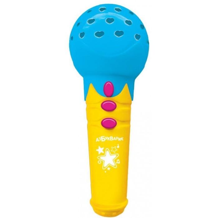 Музыкальные инструменты Азбукварик Микрофон Песенки для малышей с огоньками азбукварик игрушка азбукварик зверята с огоньками зайка