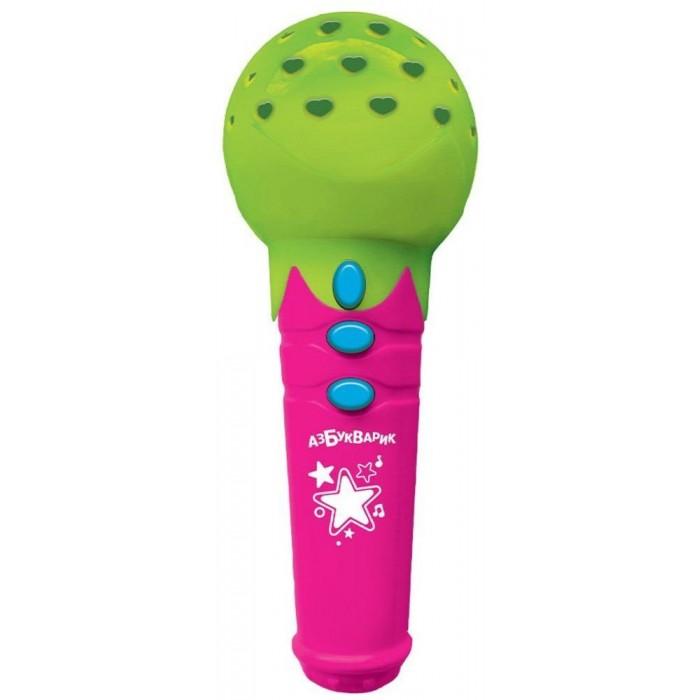 Музыкальные инструменты Азбукварик Микрофон Песенки-чудесенки с огоньками азбукварик игрушка азбукварик зверята с огоньками щенок