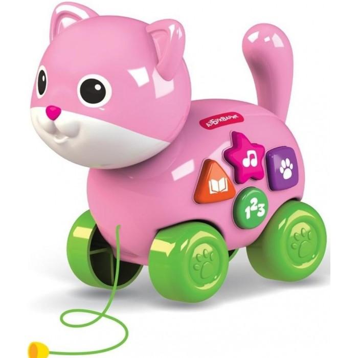 Каталки-игрушки Азбукварик веселая Котик азбукварик каталка азбукварик котик