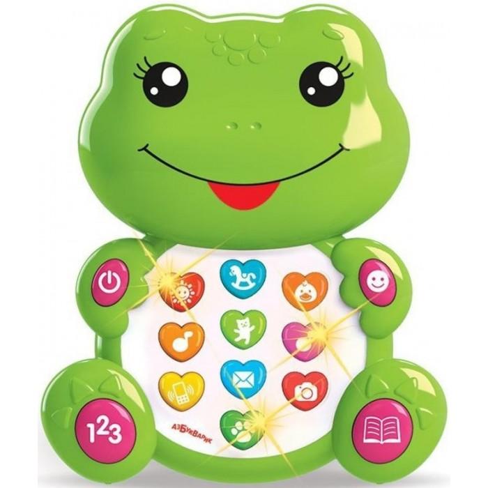 Развивающие игрушки Азбукварик Лягушонок с огоньками азбукварик игрушка азбукварик зверята с огоньками лягушонок