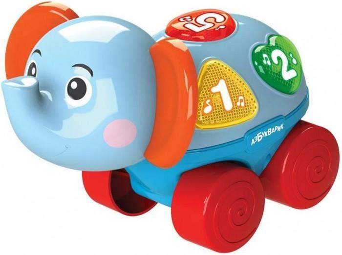 Картинка для Каталки-игрушки Азбукварик музыкальная Слоненок