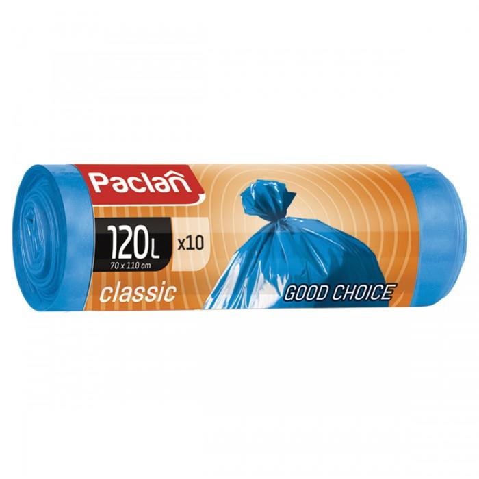 Хозяйственные товары Paclan Мешки для мусора 120 л 10 шт. 402032 мешки для мусора концепция быта 120 л 10 шт