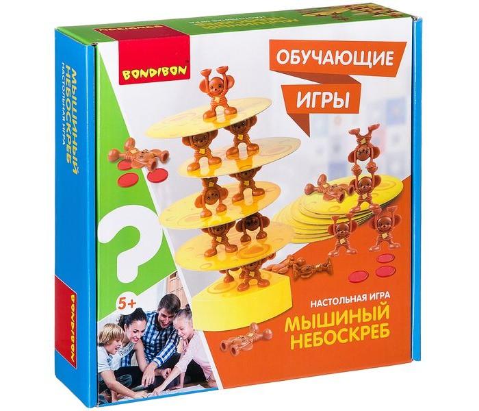 Картинка для Настольные игры Bondibon Обучающие игры Настольная игра Мышиный Небоскреб