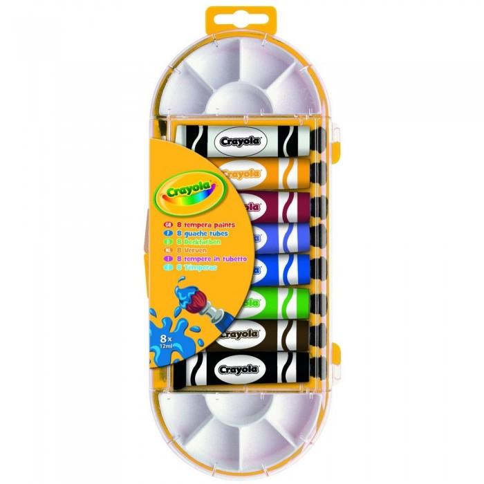Развитие и школа , Краски Crayola Темперные краски 8 цветов арт: 88824 -  Краски