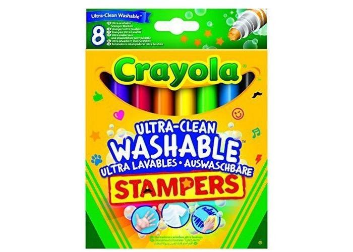 Фломастеры Crayola Набор мини-штампов Супер-чисто Животные 8 шт. оснастка для штампов colop printer c30 18x47mm 218964