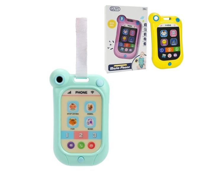 Картинка для Электронные игрушки Наша Игрушка Музыкальный сенсорный телефончик