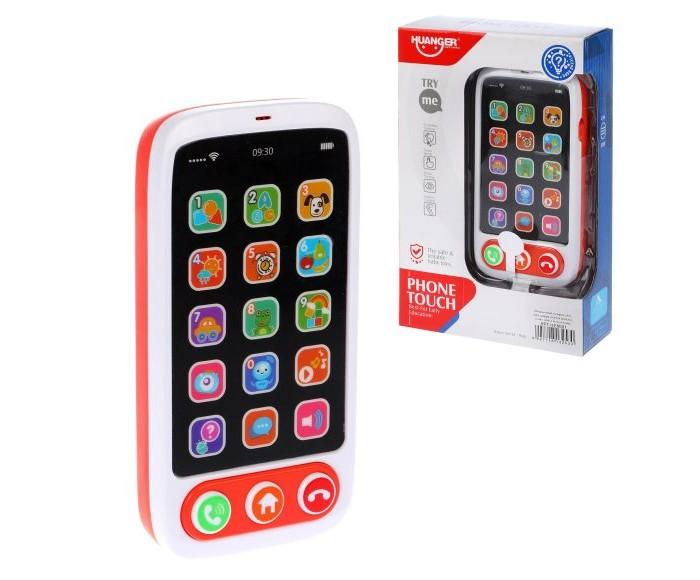 Электронные игрушки Наша Игрушка Музыкальный телефон HE8001 телефон