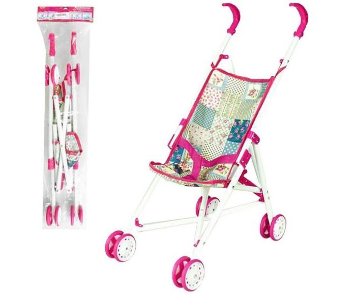 Купить Коляски для кукол, Коляска для куклы Наша Игрушка трость Пэчворк M7489-1