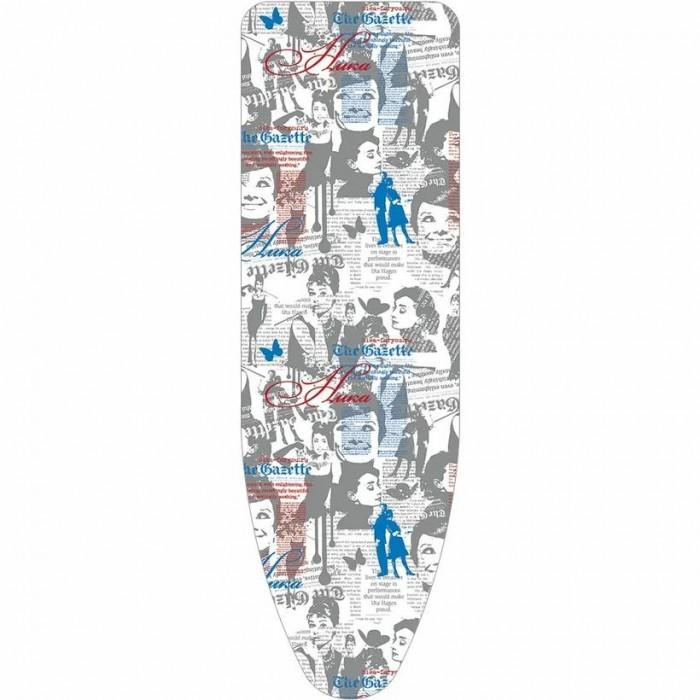 Хозяйственные товары Ника Чехол для гладильной доски антипригарный с поролоном №3 чехол для гладильной доски vileda park