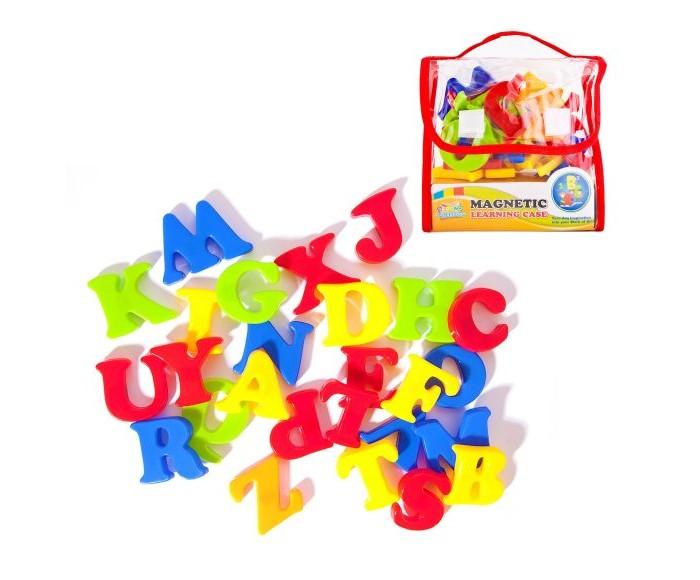 Раннее развитие Наша Игрушка Набор английских букв на магнитах (26 предметов) набор букв дрофа медиа магнит в коробке касса букв на магнитах 2556