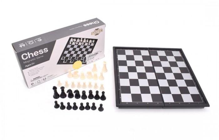 Настольные игры Наша Игрушка Шахматы настольные магнитные 20х20 см настольные игры наша игрушка головоломка звезда