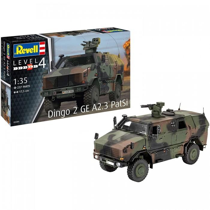 Сборные модели Revell Сборная модель Бронетранспортер Dingo 2A3.1 1:35