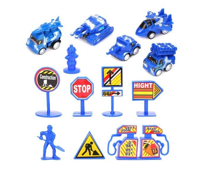 Игровые фигурки Наша Игрушка Игровой набор Военная полиция (7 предметов) фигурка lefard собака 7 4 5 6 5 см