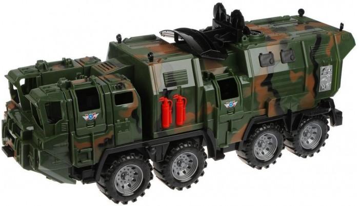 Машины Нордпласт Военный тягач Щит с кунгом камуфляж