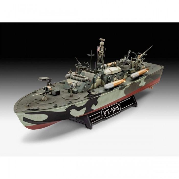 Revell Сборная модель Патрульная Торпедная Лодка PT-588/PT-579 late 1:72 от Revell