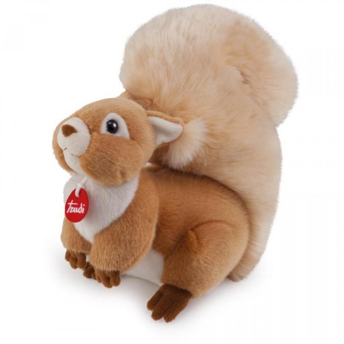 Мягкие игрушки Trudi Белочка Джинджер 24 см trudi котёнок брэд серо белый 24 см