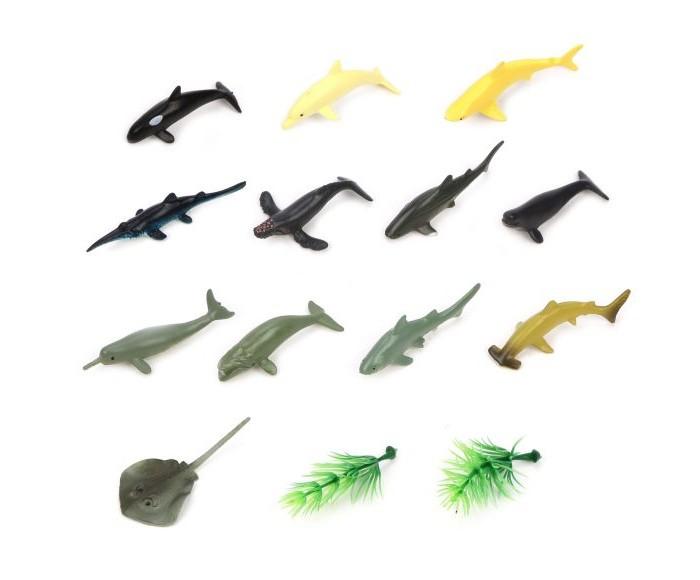 Игровые фигурки Наша Игрушка Набор фигурок Акулы 12 шт.