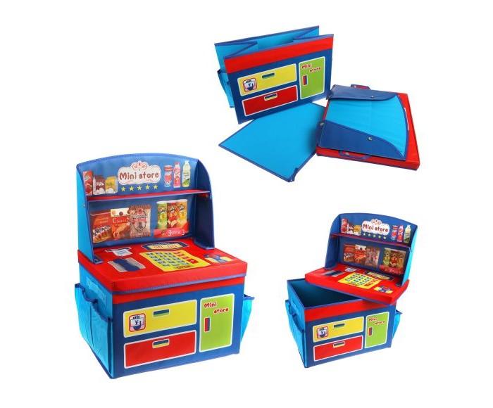 Ящики для игрушек Наша Игрушка Корзина для игрушек Магазин 40х30х28/55 см