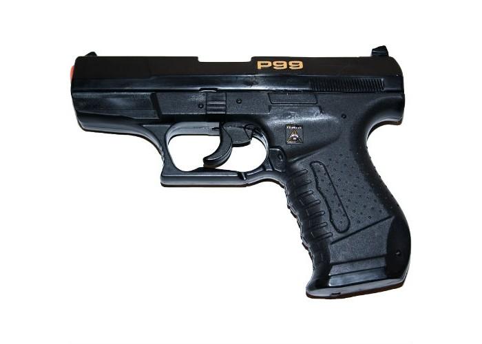 Купить Игрушечное оружие, Sohni-wicke Пистолет пистонный Специальный агент P99 25-зарядный 180 мм