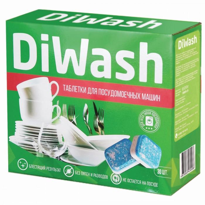 Фото - Бытовая химия Diwash Таблетки для посудомоечных машин 30 шт. бытовая химия jundo active oxygen таблетки для посудомоечных машин с активным кислородом 30 шт