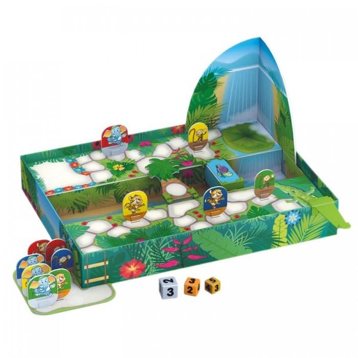 Tactic Games Настольная игра Гонки в джунглях фото