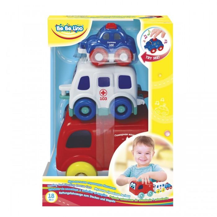 Развивающая игрушка Bebelino Пирамидка Машинки