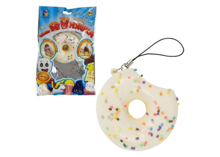 Развивающие игрушки 1 Toy антистресс мммняшка Squishy Мини-пончик в глазури