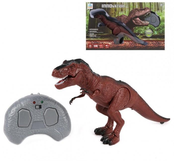 Фото - Радиоуправляемые игрушки Наша Игрушка Динозавр Ти-Рекс радиоуправляемый радиоуправляемые игрушки наша игрушка самолет радиоуправляемый 163 6688 67
