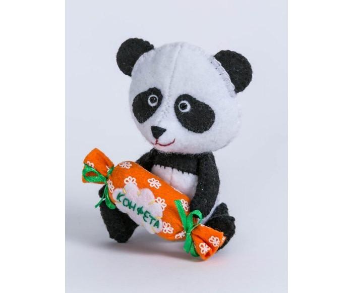 Картинка для Наборы для творчества Перловка Набор для создания игрушки Панда