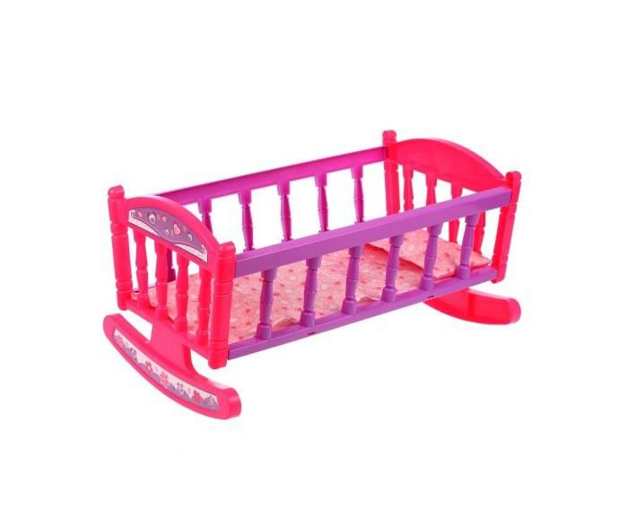 Кроватка для куклы Наша Игрушка 38х22 см (3 предмета)