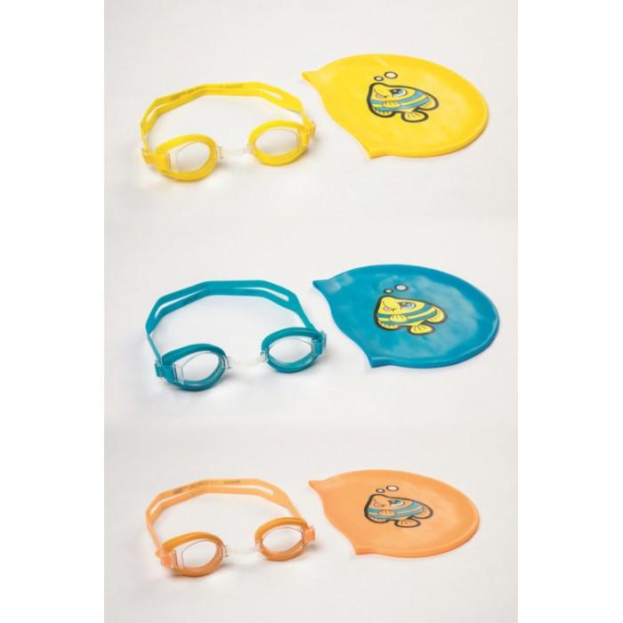 Bestway Набор для плавания очки и шапочка от Bestway