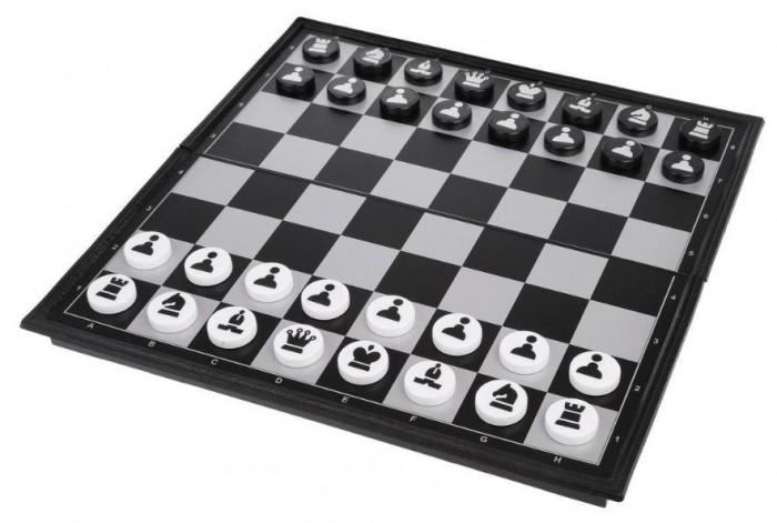 Купить Настольные игры, Наша Игрушка Шахматы и шашки 2 в 1 с игровым полем 30х30 см