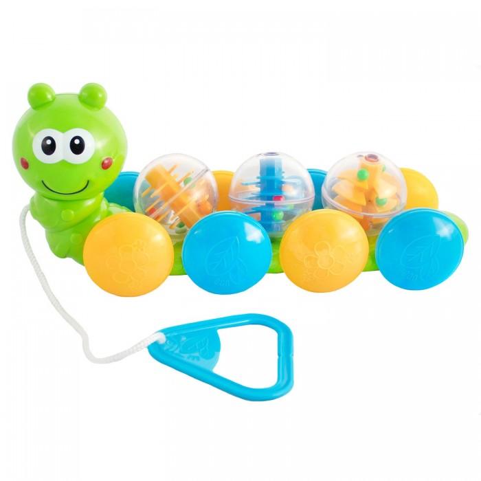 Каталки-игрушки Bebelino Гусеница с шариками 75065