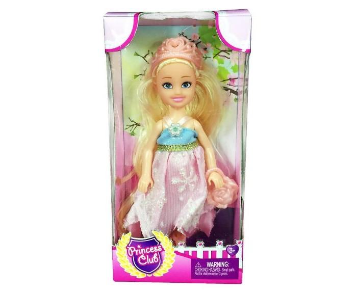Куклы и одежда для кукол Наша Игрушка Кукла Princess Club 12 см куклы и одежда для кукол наша игрушка платье для куклы очарование 29 см