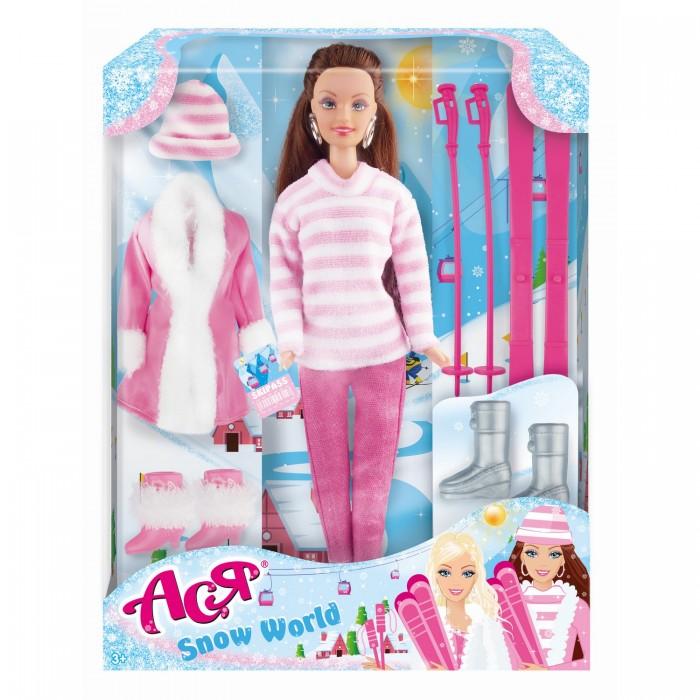Купить Куклы и одежда для кукол, Toys Lab Набор Кукла Ася Снежная красавица 1
