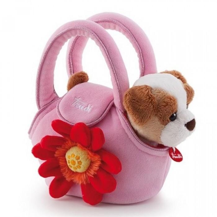 Мягкие игрушки Trudi Щенок в сумочке 15 см orange 7654 15 мягкая игрушка щенок рекс 15 см
