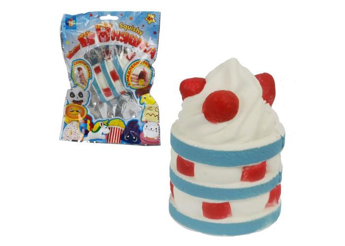 Развивающие игрушки 1 Toy антистресс мммняшка Squishy Пирожное со сливками 44 г