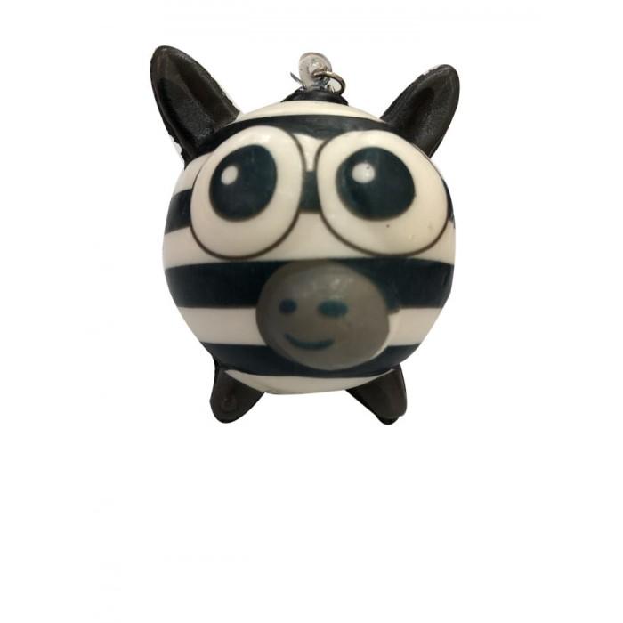 Развивающие игрушки 1 Toy антистресс мммняшка Squishy Шарики-звери Зебра