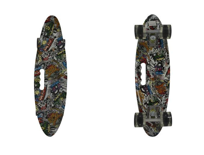 Navigator Скейтборд пластиковый со светом
