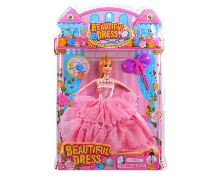 кукла наша игрушка карина в свадебном платье Куклы и одежда для кукол Наша Игрушка Кукла 29 см в бальном платье