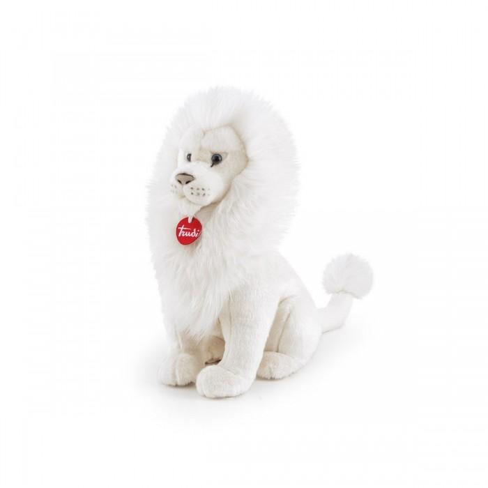 Картинка для Мягкие игрушки Trudi Белый лев Леонардо 44 см
