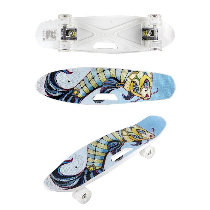 Купить Скейтборды, Navigator Скейтборд пластиковый со светом Т17041